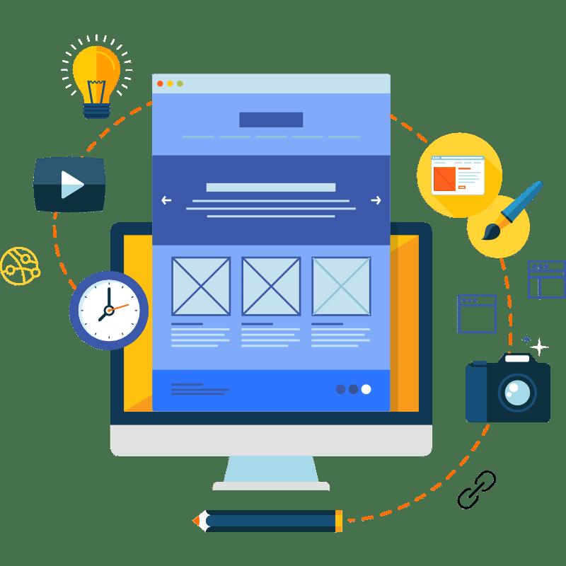 Webdesign für Ärzte und Therapeuten Artwork kurakado webdesign