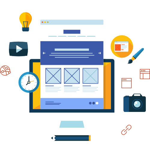 Kurakado Leistungen Webdesign
